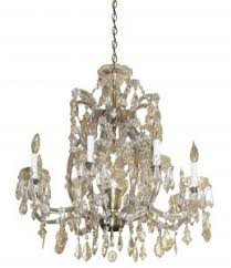 Marie Therese Crystal Chandelier A Short But Sweet History Of Chandeliers Olde Good Things