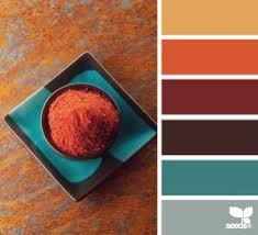 bedroom color scheme aqua orange brown paint colors from chip