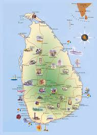 Sri Lanka On World Map by Maps Of Sri Lanka Detailed Map Of Sri Lanka In English Tourist