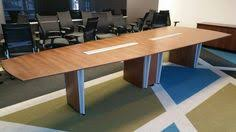 bar height conference table bar height conference table made from bamboo power data grommet