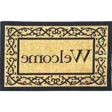 Outdoor Mats Rugs New Monogram Outdoor Rug Monogrammed Door Mats Mats Rugs The Home