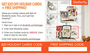 20 cards at shutterfly free shipping check your email