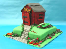 Best Decorated Cakes Ever Making The Best Shed Cake Ever Youtube