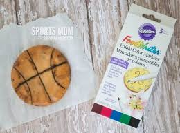 Basketball Themed Baby Shower Decorations Basketball Cookies And Free Printable Tags