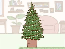 White Christmas Tree Green Decorations by How To Create A Wintery And Snowy Christmas Tree Without Flocking It