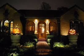 front entrance lighting ideas prepare for halloween with some contemporary lighting ideas