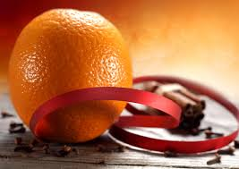 pomander supplies orange clove ribbon inhabitat green design