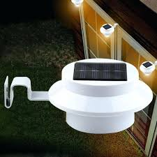outdoor solar wall lights gutter light suintramurals info