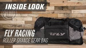 fly motocross goggles fly racing roller grande motocross gear bag inside look youtube