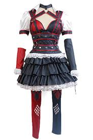 best batman halloween costume batman arkham knight harley quinn dress cosplay costume eu