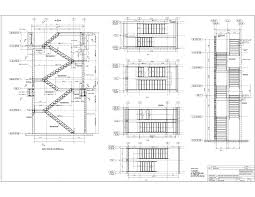 Floor Plans With Spiral Staircase Advanced Detailing Corp Steel Stairs Shop Drawings