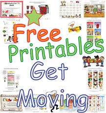 exercise and being active worksheets and activities for preschool