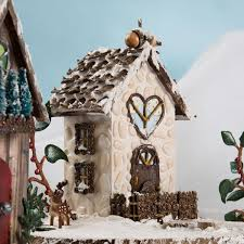 fairy garden snow village project plaid online