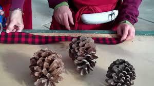 wilson s garden center pine cone door swag