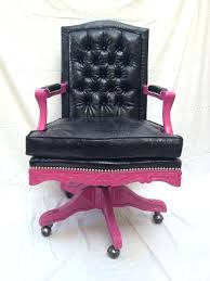 pink office chair pretty in by eclectic chairs walmart desk