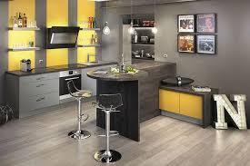 cuisine so cooc mezzo jaune moutarde mat gris souris mat socoo c cuisine