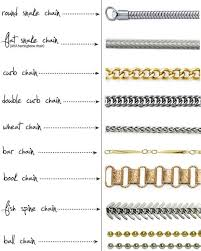 jewelry necklace chain styles images Pin by davina overcash on jewelry pinterest types of necklace jpg