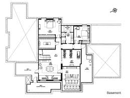 Floor Plans With Basement by Fresh Basement Floor Plans With Bar 9625