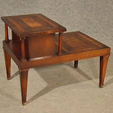 antique style table two tier library step antiques atlas