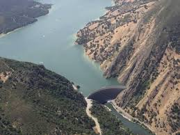 Lake Berryessa Monticello Dam At The Mouth Of Lake Berryessa California Usa