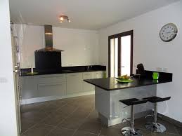 faience grise cuisine cuisine et grise beautiful gallery of idee deco carrelage