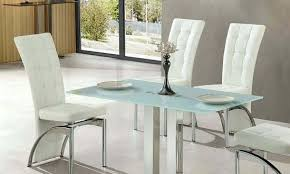 Small Glass Dining Room Tables Rectangle Glass Dining Table Dining Room Cintascorner Glass