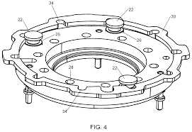 patent us7670107 variable vane assembly having fixed axial