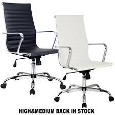 white office chair modern white office chair used office chairs ebay