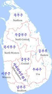 Uva Map File Sri Lanka Map Png Wikimedia Commons
