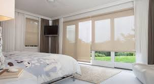 window treatments for sliding glass doors the shade store inside