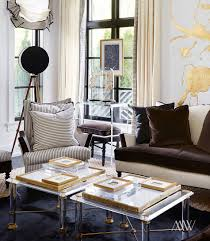 home design trend global glam interiors living room coffee tables lucite furniture design trend home interior glam