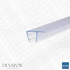 shower door replacement seal 4 6mm 8mm 10mm glass 8 3mm