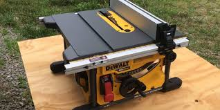 dewalt flexvolt table saw dcs7485t1 u2013 let u0027er rip with 60 volts