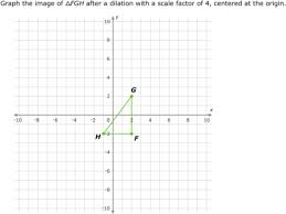 ixl dilations scale factor and classification geometry practice