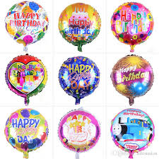 18 inch air ballons helium balloon happy birthday