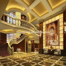 luxury golden italian style 3d rendering interior design for