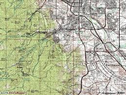 colorado springs topographic map topographic map