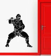wall stickers vinyl decal ninja assassin japanese warrior ig525