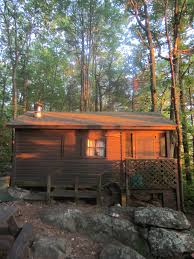 relaxshacks com a tiny cabin house in the middle of the woods in