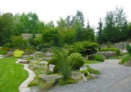 Rock Garden Bellevue альпийская горка с хвойниками альпинарии Pinterest Gardens
