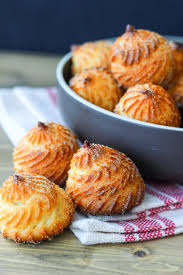 cuisine choux cornmeal choux pastry aka broa de fuba kitchenlicious
