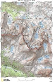 Usps First Class Shipping Time Map Sierra High Route Mapset U0026 Databook Download Andrew Skurka