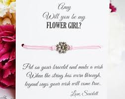 will you be my flower girl gifts be my flower girl etsy