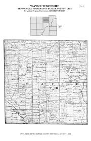 Ohio Union Map by 1855 Map Of Butler County Butler County Historical Society