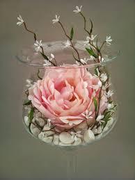 Vase Pour Composition Florale Plante Fleur Deco Artificielle Haut De Gamme Vegetal Intemporel