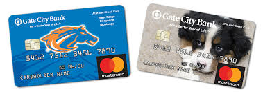 customized debit cards atm check cards personal banking gate city bank