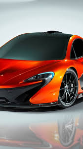 orange mclaren orange mclaren p1 concept sport car wallpaper download 1080x1920
