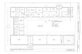 Plan 65 File Annex Floor Plan South Section Westside Annex
