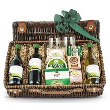 gift baskets with wine wine trio picnic gift basket wine