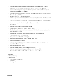 Sample Of Resume Cv by Tips For An Archaeology Resume Cv If You Just Graduated Or Are